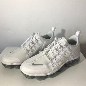 Nike Air VaporMax Run Utility Running Shoe White